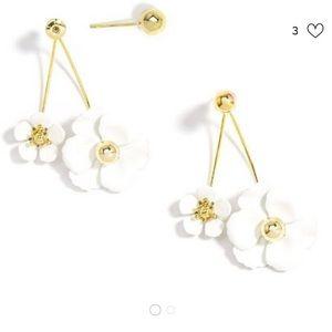 Anthropologie Adelaide floral earrings NWT